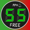Speedometer - Free - Speed Limit Alert + HUD and Map