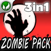 3-IN-1 ULTIMATE ZOMBIE PACK!